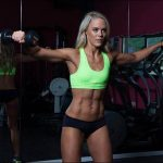 Female fitness model Caragh Flannery reveals diet and fitness secrets