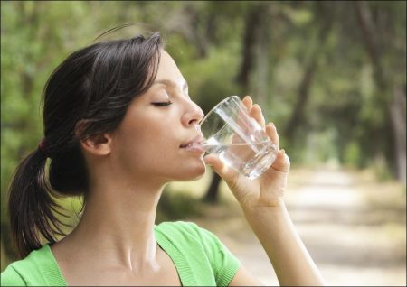 Drink plenty of water when you feel hungry
