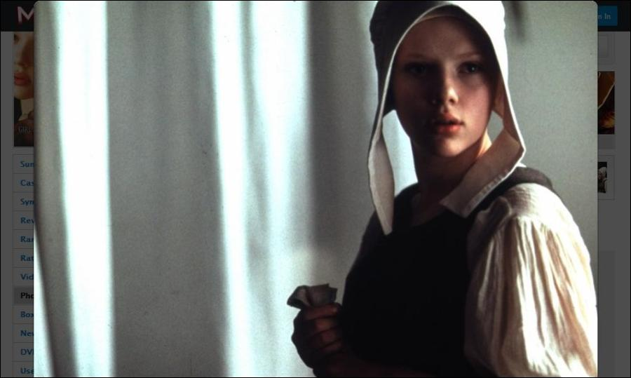girl with a pearl earring production notes 2003 movie