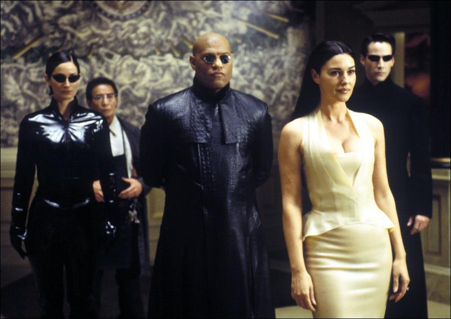 The Matrix Reloaded Movie Production Notes 2003 Movie Releases
