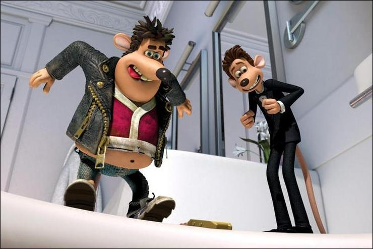 Flushed Away Production Notes 2006 Movie Releases
