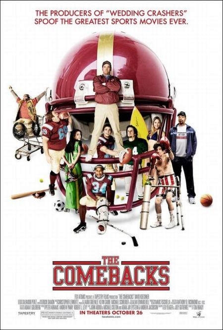 the comebacks movie production notes 2007 movie releases