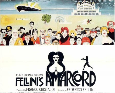 Amarcord Movie by Federico Fellini - 1973