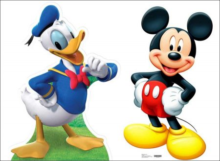 Mickey Mouse, Donald Duck and Disneyland