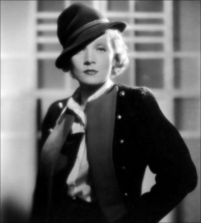 Woman Movie Stars as Role Models - Marlene Dietrich