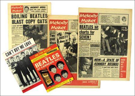 Billboard, Melody Maker and Rhythm & Blues