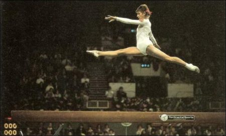 Olga Korbut, Soviet Gaymnast in 1972 Munich Olympics