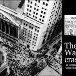 Wall Street Crash in 1929