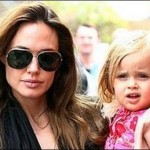 Angelina Jolie and Jane Pitt, two moms hens around the little Knox!