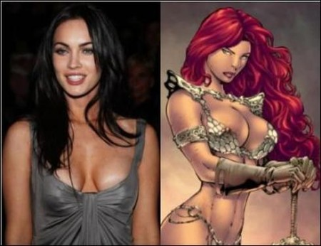 Megan Fox as Red Sonja