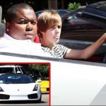 Justin Bieber drives Diddy's $200,000 Lamborghini