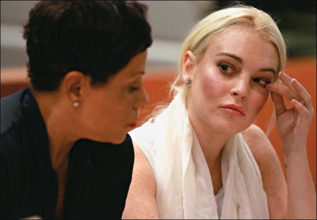Lindsay Lohan's courtroom drama is Web sensation