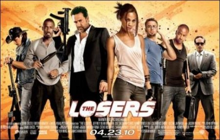 DVD Releases: The Losers on DVD