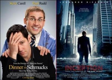 Schmucks second to Inception at boxoffice