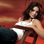 Katie Holmes Poses in J.Crew Catalog!