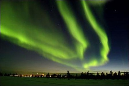 Northern Lights hit 100-year low point