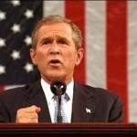 Where's former President Bush?