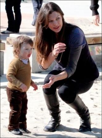 Milla Jovovich's showbiz daughter