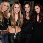Miley Cyrus throws 18th-birthday bash