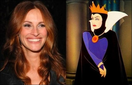 Julia Roberts to play evil queen in Snow White