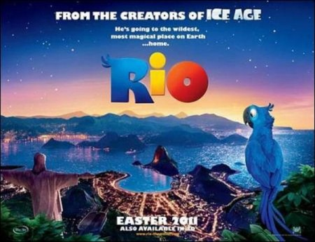 "Easter moviegoers flock to bird cartoon ""Rio"""