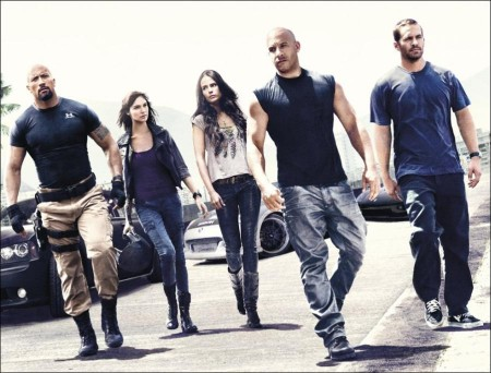 Fast Five sizzled at the box-office