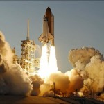Atlantis blasts off on historic flight