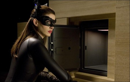 See Anne Hathaway as Catwoman in The Dark Knight Rises
