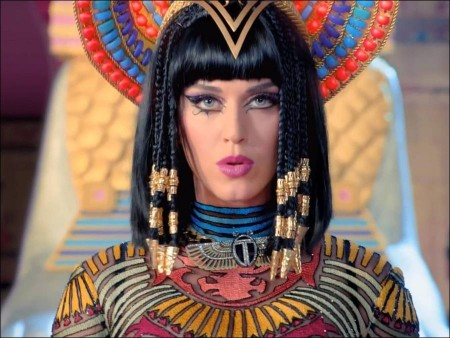 Katy Perry's ghastly getup