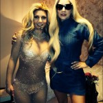 Gaga's awkward moment with Britney