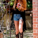 Lindsay Lohan's hippie-style flub