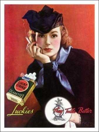 Advertising for Men: Cigarette Advertisements