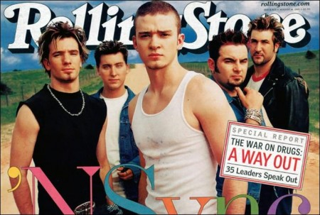 Backstreet Boys, Rolling Stone Magazine Cover 2001