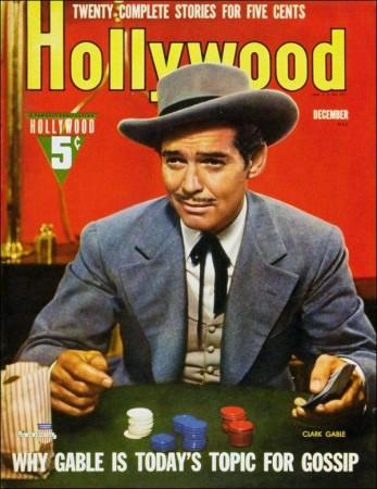 Clark Gable Hollywood Magazine Cover 1930's