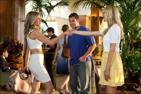 adam sandler, brooklyn decker, hollywood movies, jennifer aniston, just go with it, nicole kidman, production notes, romantic comedies, shooting in hawaii