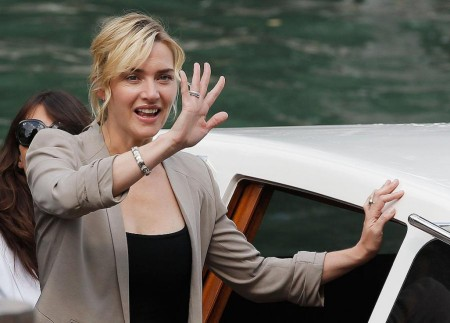 Kate Winslet returns to the spotlight at Venice