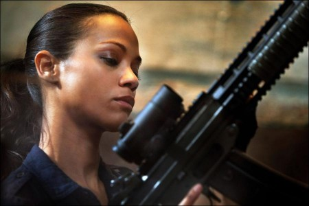 Zoe Saldana talks about 'Colombiana'