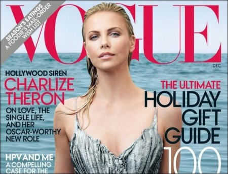 Charlize Theron talks single life in Vogue