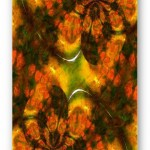 Oriental Asian Abstract Greeting Cards and Coffee Mugs