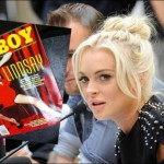 Lindsay Lohan's Playboy cover leaked