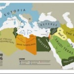 The Arab Spring Map Poster
