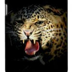 Leopard Digital Artwork iPad Case