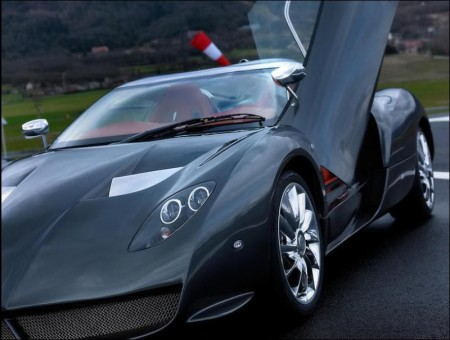 Spyker C12 Zagato: All-new design elements inspired by Formula 1