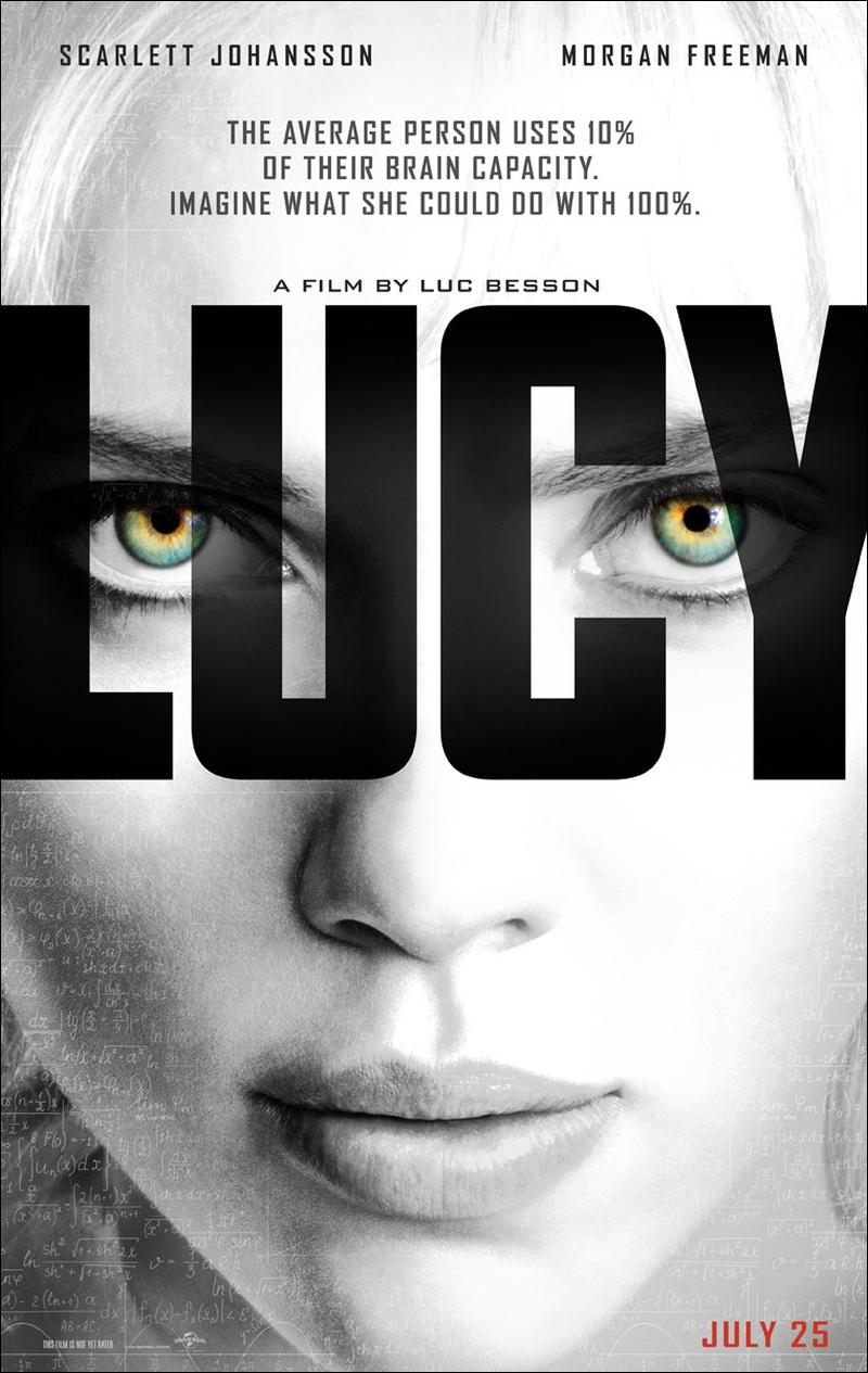 Lucy Movie Double-Sided Poster