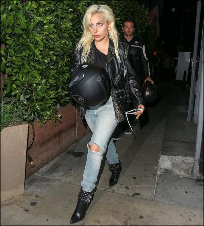 Bradley Cooper and Lady Gaga's Motorcycle Dinner Date