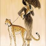 Karen Dupré and her exotic wild animals
