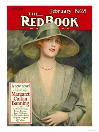 Redbook, February 1928 Cover