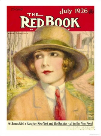 Redbook, July 1926 Cover