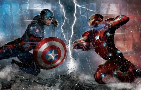 'Captain America: Civil War' soars to $14.9 Million overseas on first day