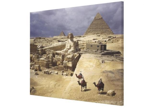 Giza, Egypt. Canvas Print
